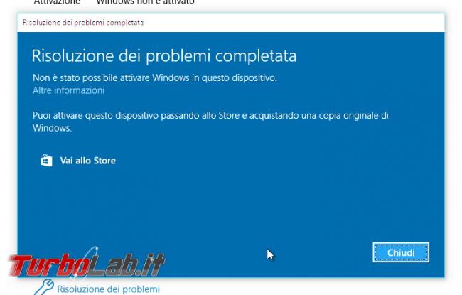 """Grande Guida Windows 10 """"Anniversary Update"""" (versione 1607, """"Redstone""""): tutto quello devi sapere - windows 10 1607 Risoluzione dei problemi di attivazione"""