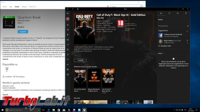 """Grande Guida Windows 10 """"Anniversary Update"""" (versione 1607, """"Redstone""""): tutto quello devi sapere - windows 10 1607 xbox gaming"""