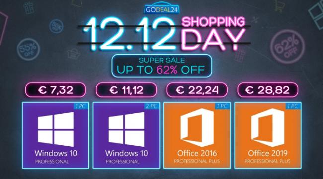 Grandi saldi invernali: Windows 10 partire 5,56 €, Microsoft Office Software ufficio scontati fino 88% - FrShot_1607524709_