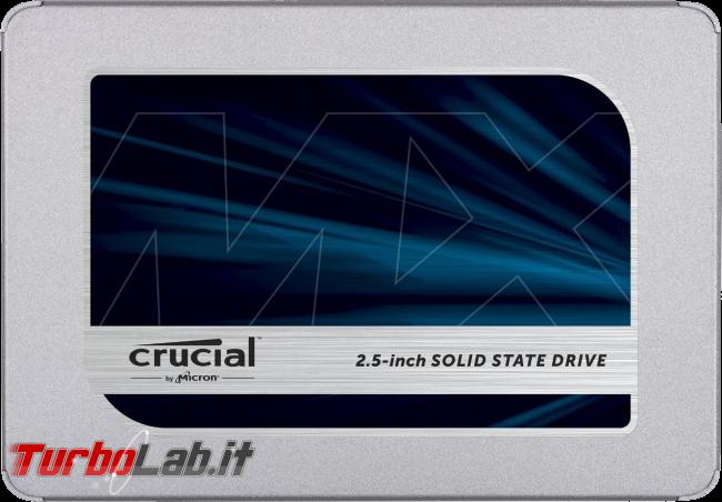 Guida acquisto: miglior SSD/disco fisso (sostitutivo) notebook (primavera/estate 2018) - crucial mx ssd drive