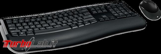 Guida acquisto: migliori webcam, tastiera, mouse, casse cuffie PC, estate 2018 - Wireless Desktop 5000