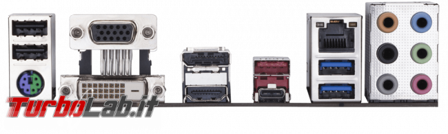 Guida acquisto: risparmiare assemblando PC fascia alta CPU generazione precedente - gigabyte B360M D3H retro