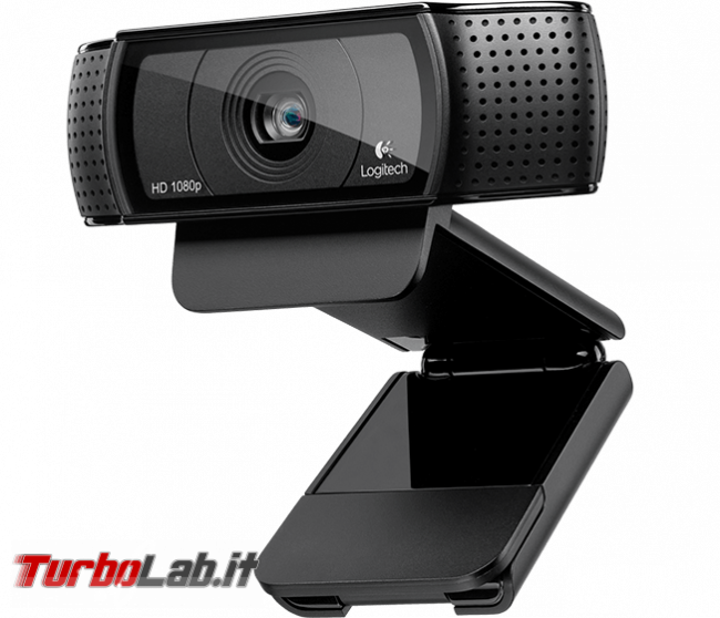 Guida acquisto: webcam, tastiera, mouse, casse, cuffie monitor - Logitech HD Pro Webcam C920