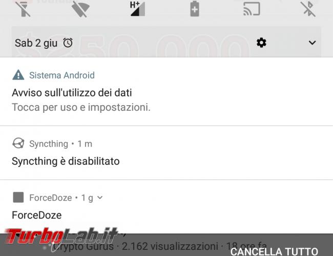 Guida Android: come impostare limite giga consumati rete mobile 4G (Iliad ecc.) - Screenshot_YouTube_20180602-175114