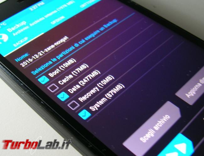 Guida backup Android TWRP: come salvare 'immagine sistema Nandroid ROM originale smartphone PC