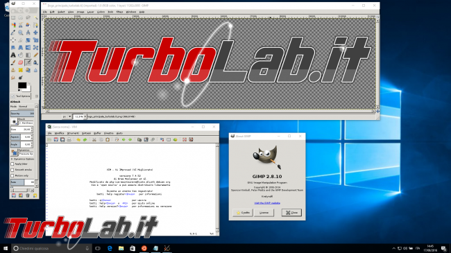 Guida Bash Windows 10 (WSL): come eseguire programmi Linux/Ubuntu interfaccia grafica (GUI) - gimp windows 10 wsl