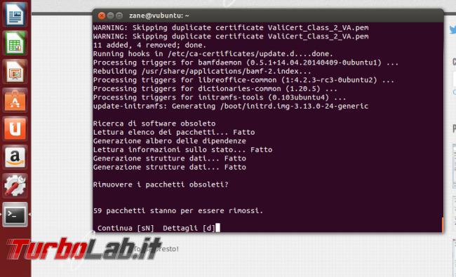 Guida: come aggiornare Ubuntu 21.04 Hirsute Hippo linea comando (terminale Ubuntu Server)