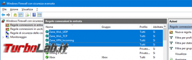 Guida: come aprire porte Windows Firewall