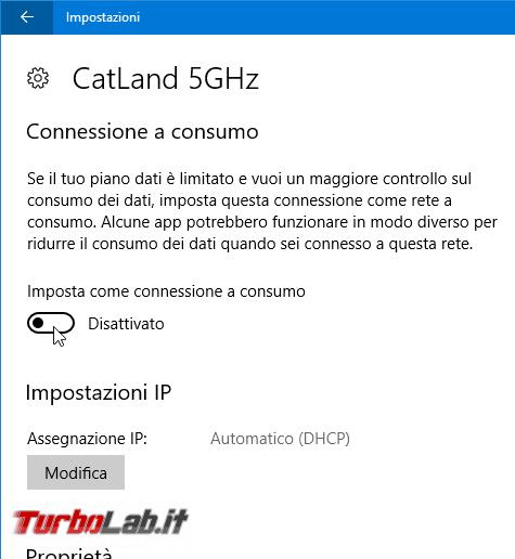 Guida: come bloccare aggiornamento automatico Windows 10 1809 (Ottobre 2018) Home Pro