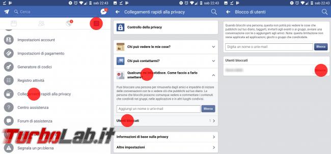 Guida: come bloccare persona Facebook PC Android, impedire ci contatti, veda post, profilo diario - sblocca persone facebook android