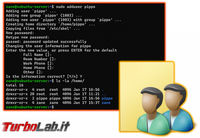 [guida] Come creare chiave SSH PC Windows, Linux, Mac accedere server senza password - ubuntu linux useradd