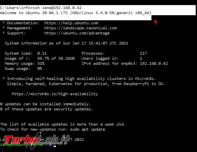 [guida] Come creare chiave SSH PC Windows, Linux, Mac accedere server senza password - zShotVM_1610898115