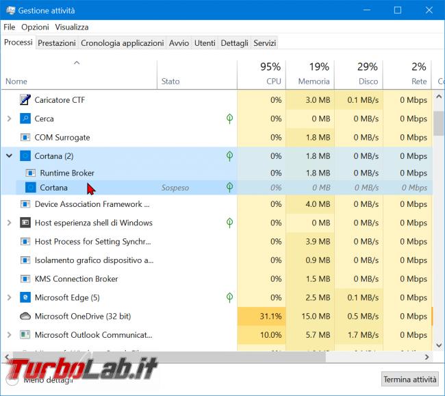 Guida: come disattivare Cortana Windows 10 2004 (Maggio 2020, bloccare Cortana.exe disinstallare app) - zShotVM_1591090311