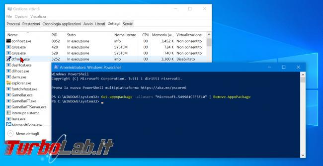 Guida: come disattivare Cortana Windows 10 2004 (Maggio 2020, bloccare Cortana.exe disinstallare app) - zShotVM_1591091541