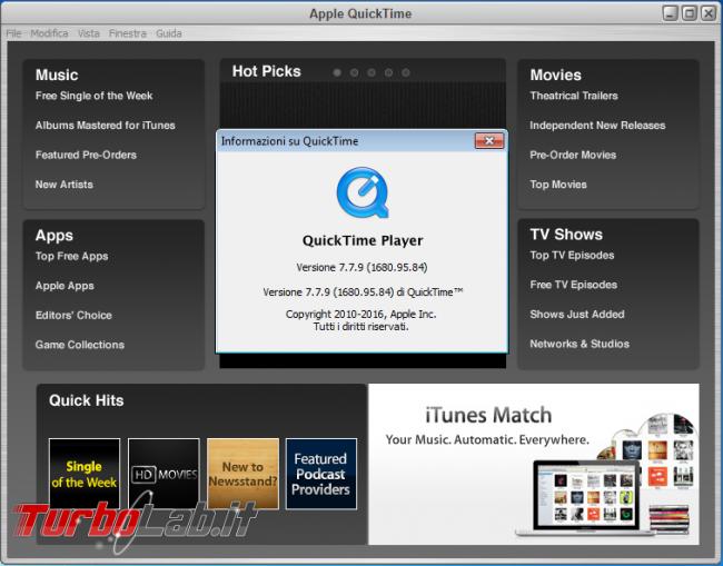 Guida: come disinstallare QuickTime Windows (è pericoloso! fallo subito!) - quicktime windows ultima versione