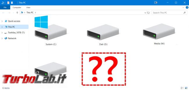 [guida] Come formattare disco (hard disk), SSD, chiavetta USB scheda SD Windows 10 - disco non rilevato spotlight