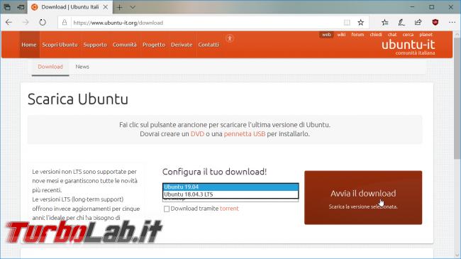 Guida: come installare Ubuntu chiavetta USB (Linux facile) - 01_ubuntu_italia pic