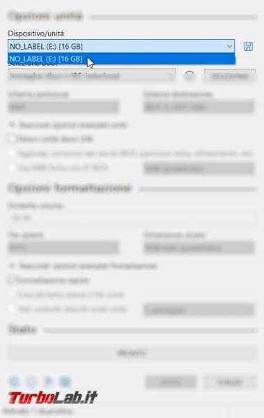 Guida: come installare Ubuntu chiavetta USB (Linux facile) - 05_selezione unità pic