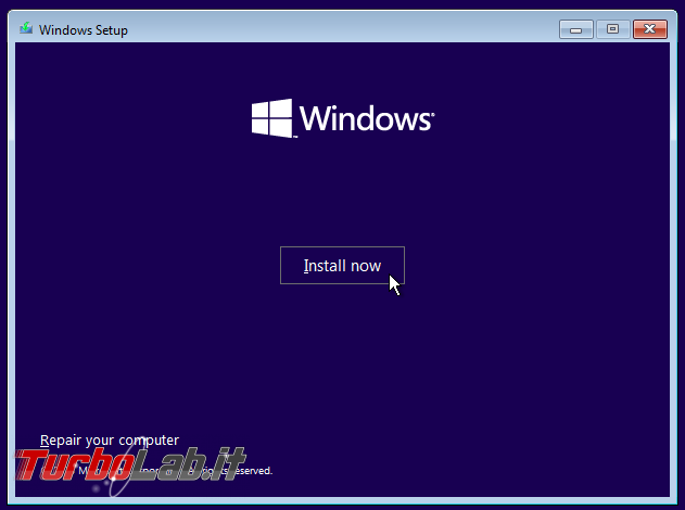[guida] Come installare Windows 10 hard disk SSD GPT GUID Partition Table