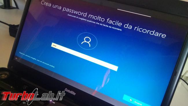 Guida: come installare Windows 10 senza account Microsoft (utente locale, offline), quando opzione non si vede - IMG_20190825_102607