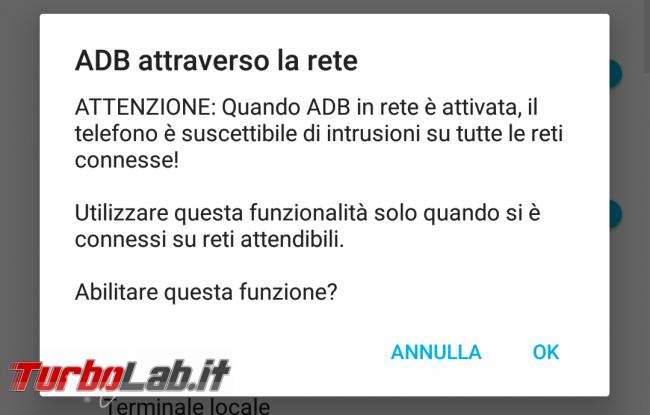Guida: come usare ADB (Android Debug Bridge) via Wi-Fi - Screenshot_Impostazioni_20180513-182609