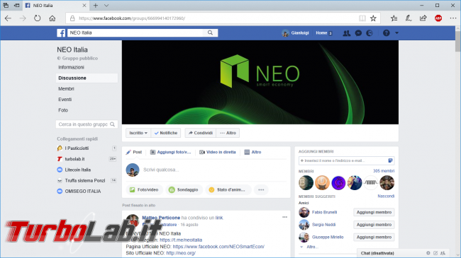 Guida comprare NEO guadagnare generando GAS (coin/token criptovaluta)