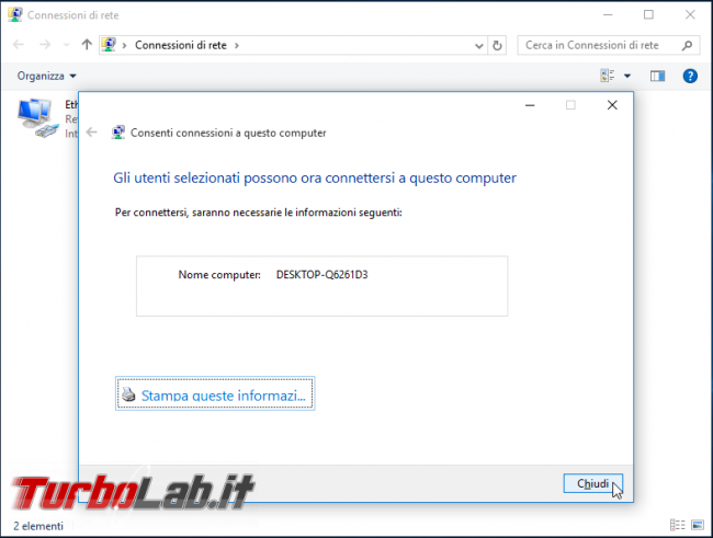 Guida: configurare Windows 10 come server VPN
