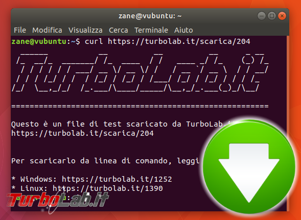 Guida curl wget, esempi: come scaricare file linea comando (Linux Ubuntu/CentOS, Windows 10, Mac) - linux ubuntu download spotlight
