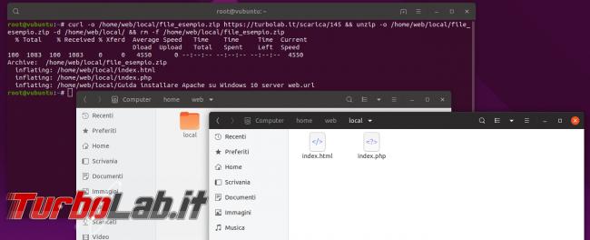 Guida definitiva Nginx Ubuntu CentOS: come installare configurare server web Linux - home nginx local con file esempio