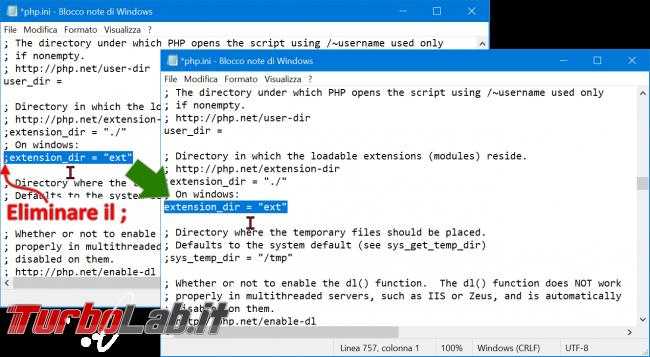 Guida definitiva PHP 8 Windows 10: come installare configurare PHP 8 Apache Windows - php extension_dir