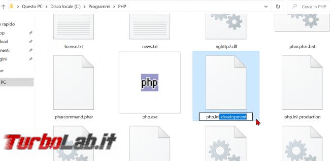 Guida definitiva PHP 8 Windows 10: come installare configurare PHP 8 Apache Windows - zShotVM_1582403498
