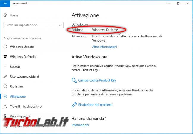 Guida downgrade Windows 10: come convertire Windows 10 Pro Windows 10 Home, senza formattare