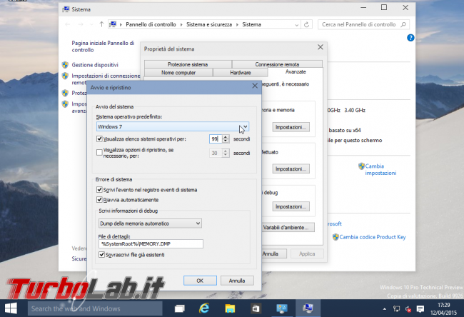 Guida dual-boot: installare Windows 10 Windows 7 stesso computer ( modo più facile possibile) - windows dual-boot sclta default