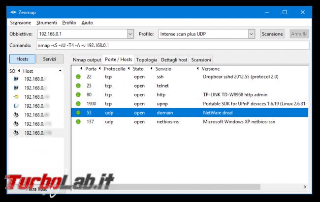 Guida facile port scan Nmap: come scoprire dispositivi connessi rete ed analizzare porte aperte