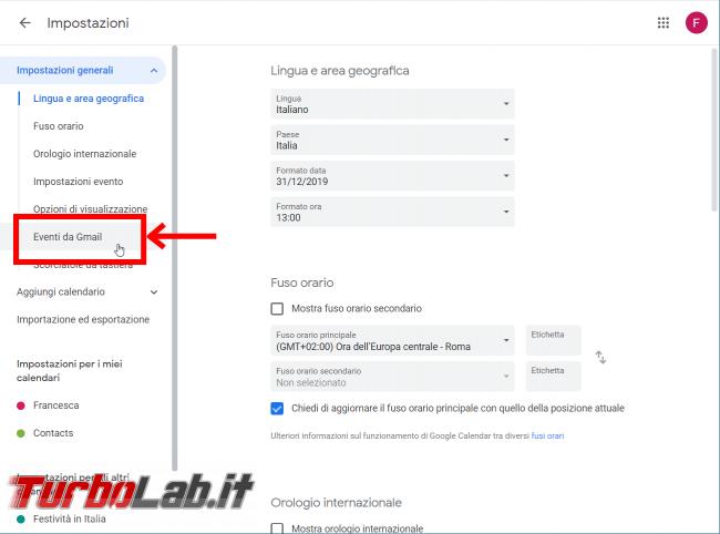 Guida Google Calendar: come bloccare strani appuntamenti inviti-truffa - FrShot_1566633025