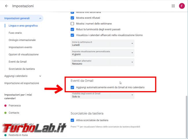 Guida Google Calendar: come bloccare strani appuntamenti inviti-truffa - FrShot_1566633077