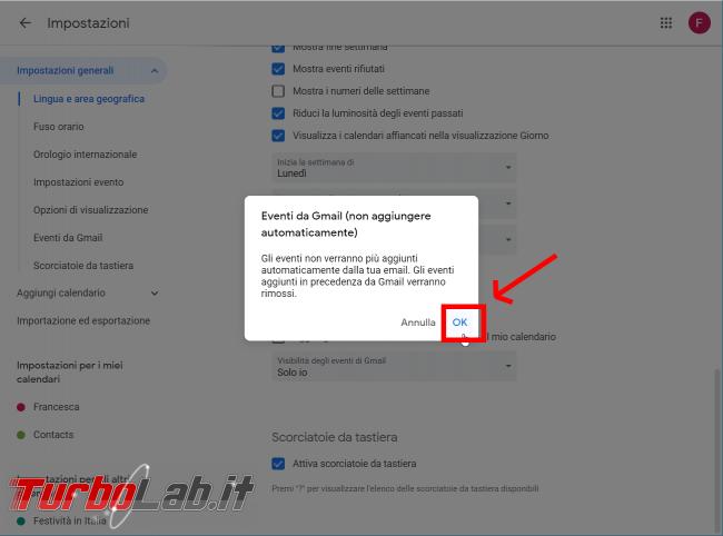 Guida Google Calendar: come bloccare strani appuntamenti inviti-truffa - FrShot_1566633091