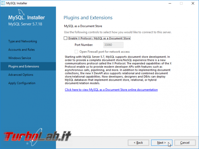 Guida: installare MySQL PC Windows