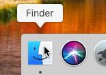 Guida Mac: come accedere cartelle condivise rete locale (LAN) - macos apri finder dock