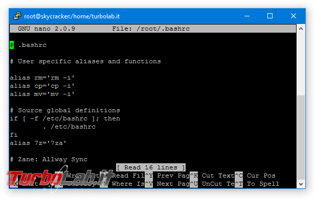 """Guida: modificare file configurazione Linux Ubuntu/CentOS terminale è facile """"nano"""" (alternativa """"vi"""")"""
