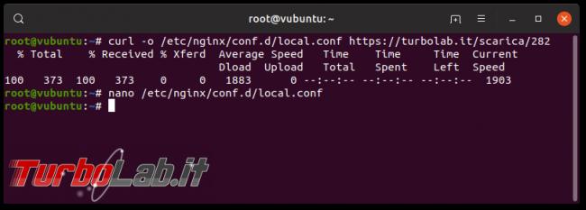 Guida Nginx Ubuntu CentOS: come installare configurare Nginx Linux - Schermata del 2019-04-20 16-43-41