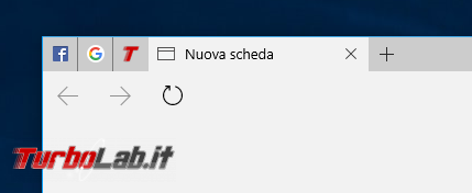 """Guida novità Microsoft Edge Windows 10 """"Anniversary Update"""" (versione 1607, """"Redstone"""") - Microsoft edge schede bloccate"""