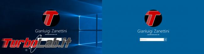 Guida novità Windows 10 1511, aggiornamento novembre (autunno 2015) - windows 10.1 login