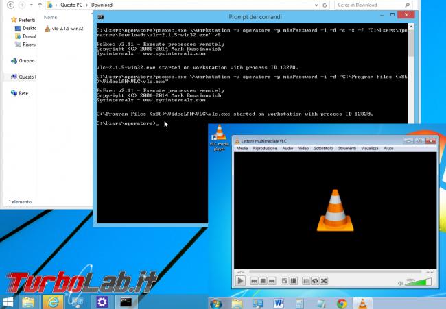 Guida PsExec - Lanciare comandi PC rete senza installare nulla