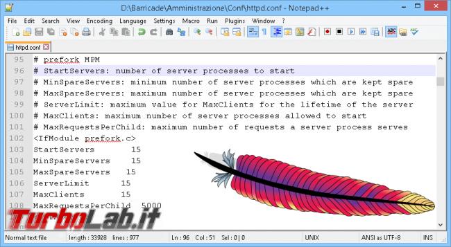 Guida rapida: KeepAlive, MaxClients altri trucchi facili velocizzare Apache (httpd)