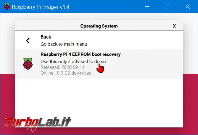 Guida Raspberry Pi 4: come aggiornare EEPROM (bootloader) - zShotVM_1605352405