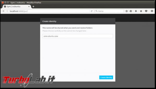 Guida: Resilio Sync (BitTorrent Sync) Ubuntu/Linux - installazione configurazione - Schermata del 2016-10-09 23-48-47