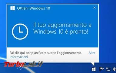 """Guida: rimuovere bandiera bianca fianco orologio Windows 7 Windows 8.1 bloccare notifiche aggiornamento """"Ottieni Windows 10"""" (DisableGwx) - ottieni windows 10 gwt"""