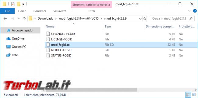 Guida server web: come installare/configurare PHP 7.3 Apache Windows 10