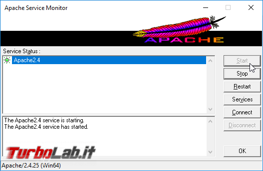 Guida server web: come installare/configurare PHP Apache Windows 10